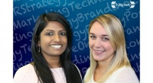 Aimee Goodsall and Ranuja Ravind