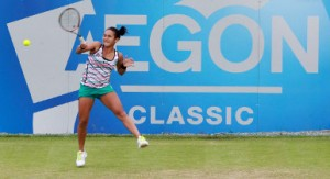 Heather Watson at the 2012 AEGON