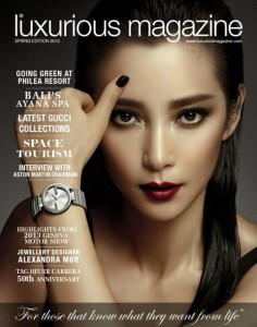 29 May Luxurious Magazine cover