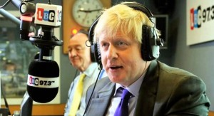13 June Boris Johnson joins LBC