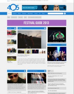 8 July The 405 Blog Spotlight