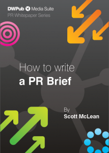 How to write a PR brief whitepaper