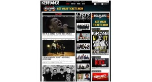 08 Apr Kerrang! Unviels new webs