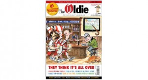 30 May The Oldie editor steps do