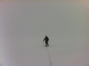 Daryl training for Mont Blanc