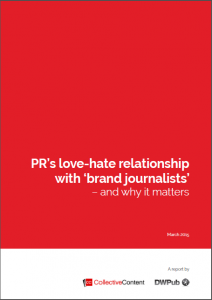 Brand journalism report March 2015