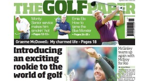 7 April The Golf Paper launched