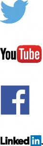 Social media logos group