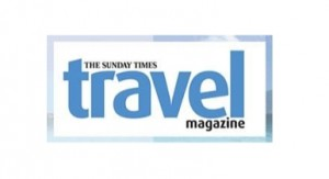 Sunday Times Travel Magazine log