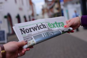 Norwich Extra. PHOTO BY SIMON FINLAY