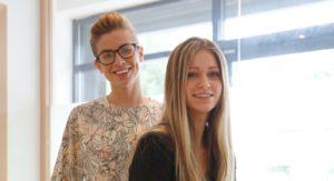 Pure PR's Emma Stanham and Tabitha Pugh