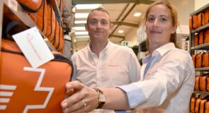 Michael and Gemma Davison of Firstaid4sport