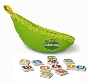 Cut-out: Bananagrams new launch for under-4s