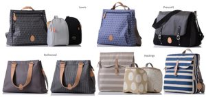 Pacapod baby equipment bags