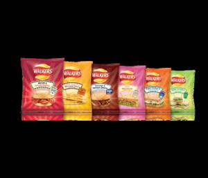 Walkers sandwich flavoured crisps