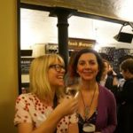Journalists at the ResponseSource Christmas party at The Cheshire Cheese 2015