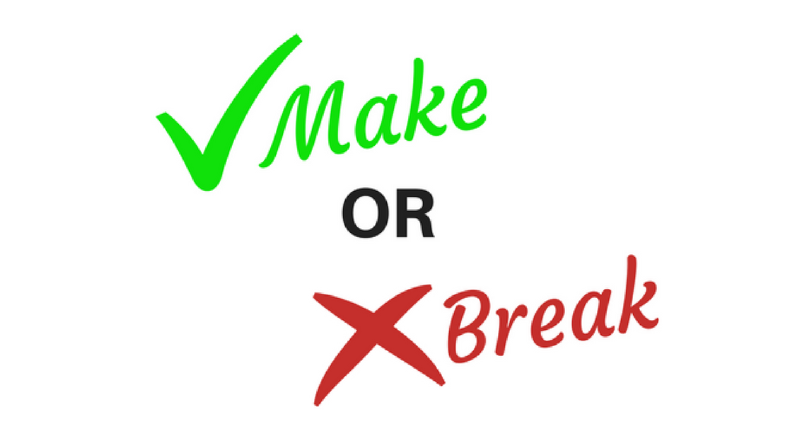 Make or break images