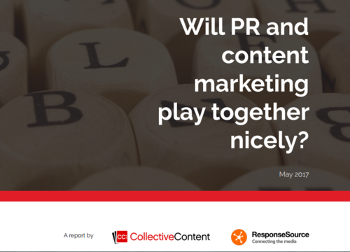 PR and content marketing survey report