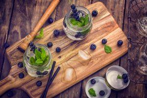 Wynyard Hall Blueberry Mojito Cocktail