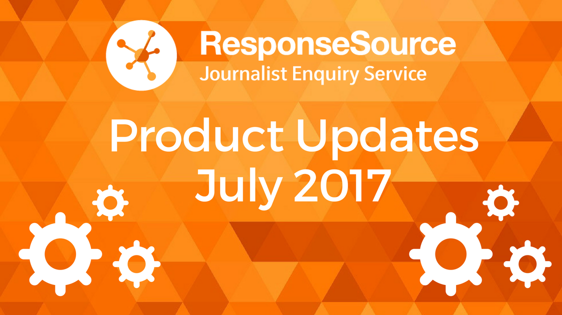 Journalist Enquiry Service Product Updates 2017