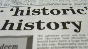 History of PR