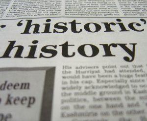 History of PR - Historic History