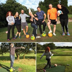 Bring Digital footgolf