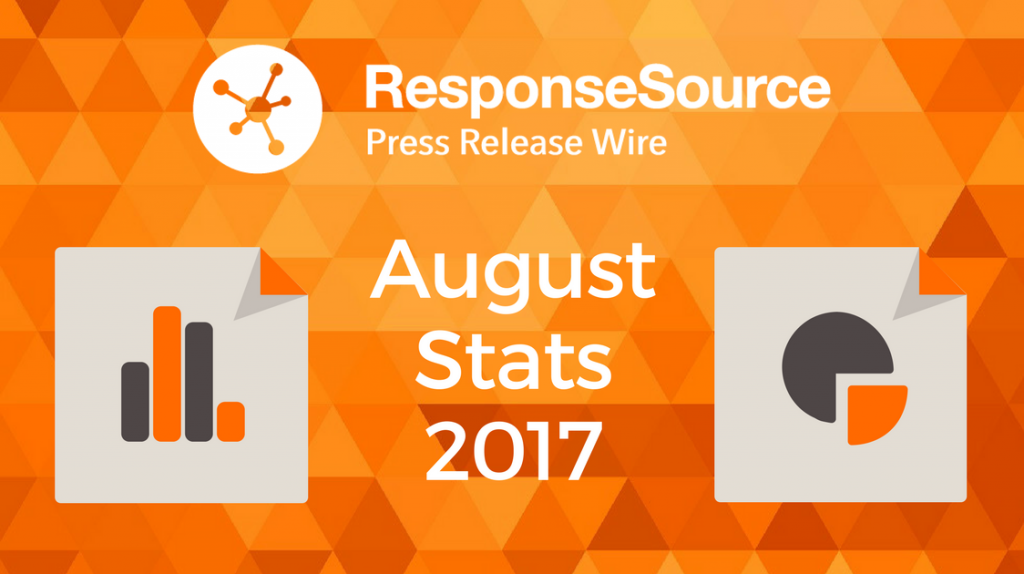 Press Release Wire August Stats 2017