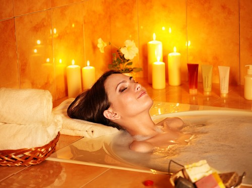 Relaxing bath image from Faith in Nature - Press Release Wire