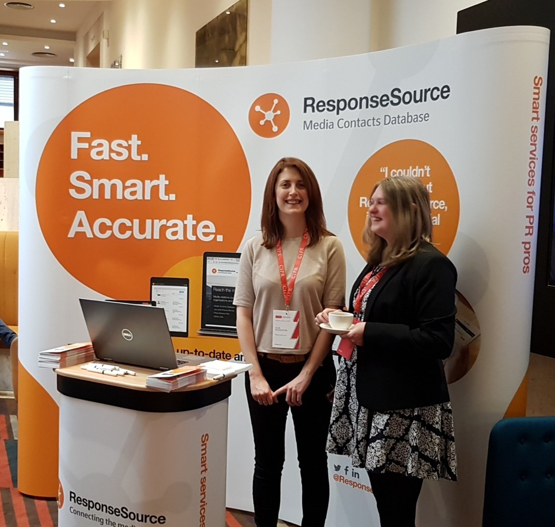 ResponseSource stand at CIPR Conference