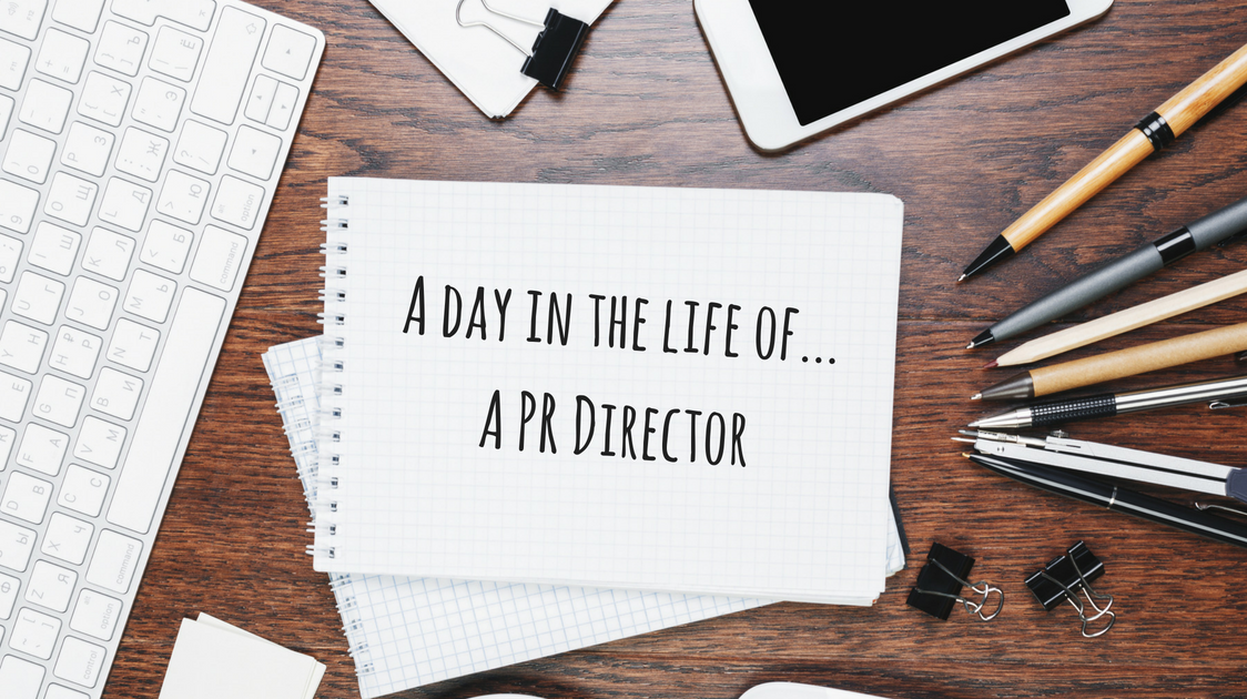 Day in the life of PR Director