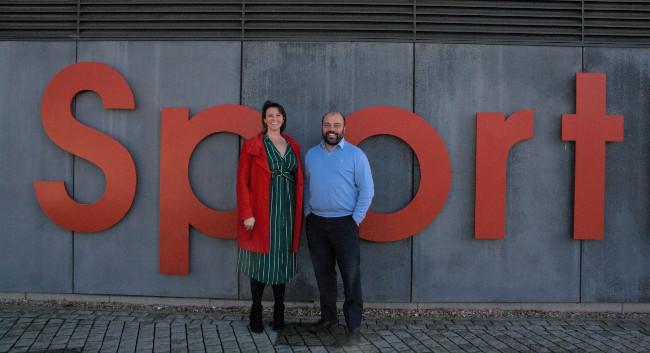 Emma van Nieuwenhuijzen and Tim Fawke