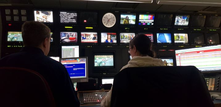 BBC South East Today news control room