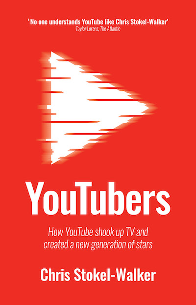 Cover of YouTubers by Chris Stokel-Walker