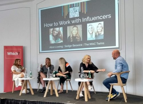 How to Work with Influencers Panel at the BSME
